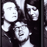 FLIN FLON, Mark Robinson, Matt Datesman, Natalie Nattles Mencinsky, photo booth