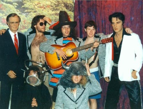 SEXUAL MILKSHAKE, George Bush, Greg Allen, Todd Rusty Massey, Jill, Chris Callahan, Elvis Presley, band