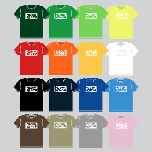Teen-Beat tee-shirts
