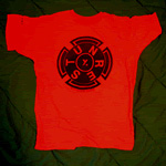 UNREST Invoking Osiris Tee-shirt red
