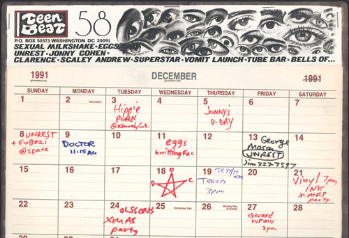 Teen Beat 58 Teen Beat Calendar 1991