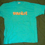 Unrest glittery logo t-shirt
