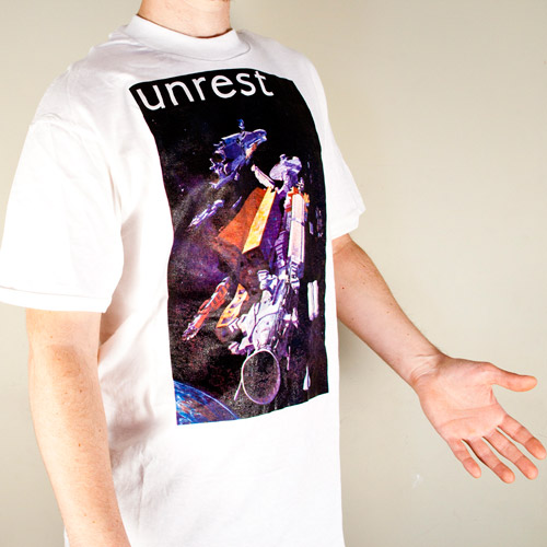 Unrest Space station t-shirt