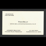 Teen-Beat Business Card Andrew Beaujon