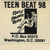 Teen-Beat matchbooks
