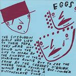 EGGS A Pit With Spikes 7-inch vinyl 45