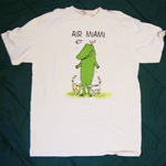 Air Miami tee-shirt  Lyle the Crocodile