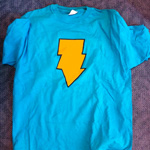Versus tee-shirt lightning bolt