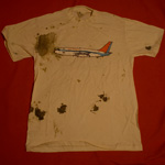 Air Miami tee-shirt airplane