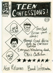 Teen Confessions original design sketch