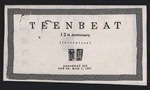Teen-Beat 12th Anniversary Banquet invitation