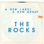 The Rocks The Gardens Outside 7-inch vinyl 45 back