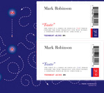 Mark Robinson, Taste, Em series, CD album double wrap card
