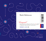 Mark Robinson, Proposal, Em series, CD album blue