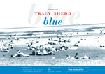 TRACY SHEDD Blue postcard, front