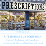 A Teen Beat Subscription announcement