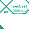 Teen-Beat Double X shipping labels