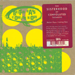 THE SISTERHOOD OF CONVOLUTED THINKERS Better Days, Coming Now CD album with sticker green