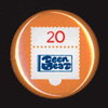 Teen-Beat's Twentieth Anniversary commemorative badge no.1
