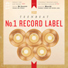 Teen Beat Number One Record Label album