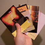 Teen-Beat Pocket Catalog Postcard Set of four