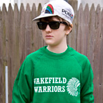 Wakefield High School sweatshirt green