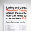 Ladies and Gentlemen. Here is Your 2013 Teen-Beat catalogue